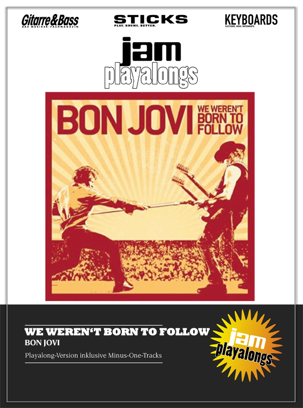 Produkt: We Weren't Born To Follow – Bon Jovi