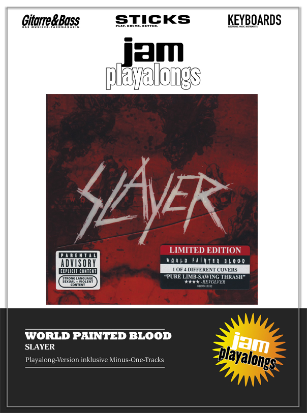 Produkt: World Painted Blood – Slayer