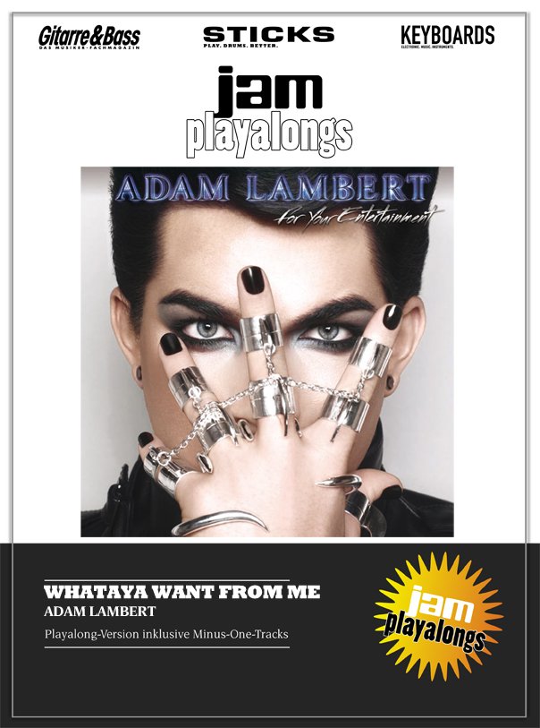 Produkt: Whataya Want From Me – Adam Lambert