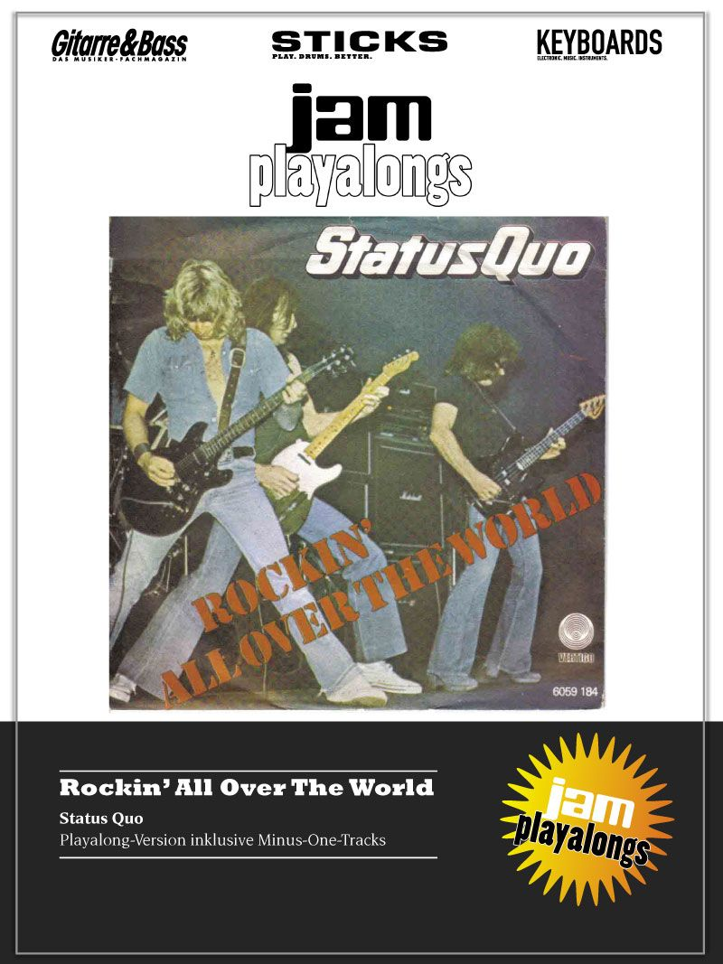 Produkt: Rockin`All Over The World – Status Quo