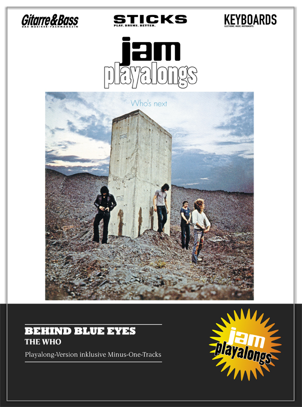 Produkt: Behind Blue Eyes – The Who