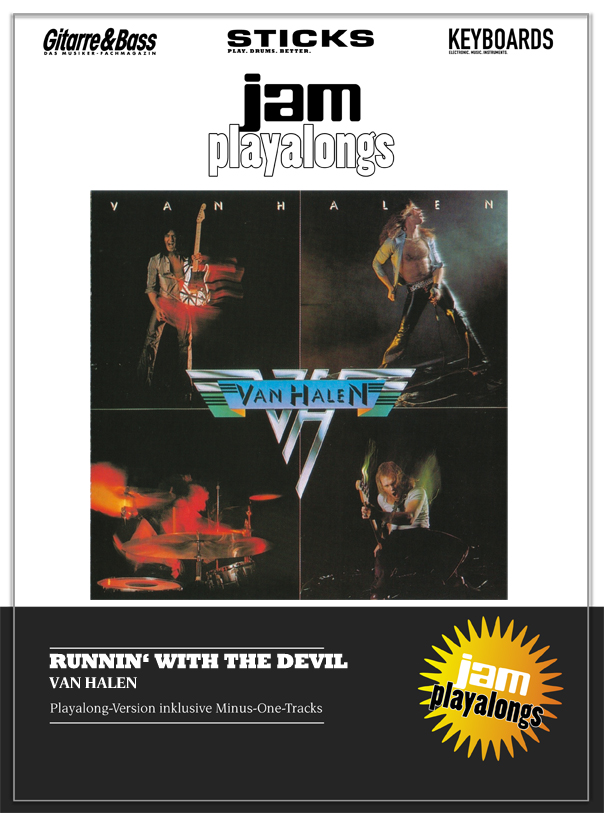 Produkt: Runnin' With The Devil – Van Halen