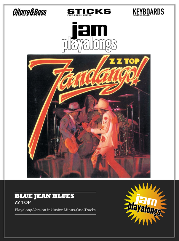 Produkt: Blue Jean Blues – ZZ Top