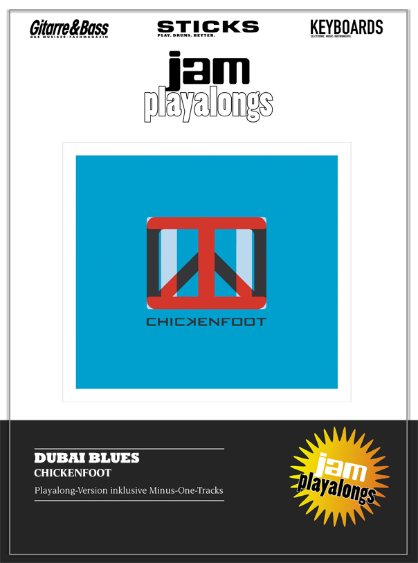 Produkt: Dubai Blues – Chickenfoot
