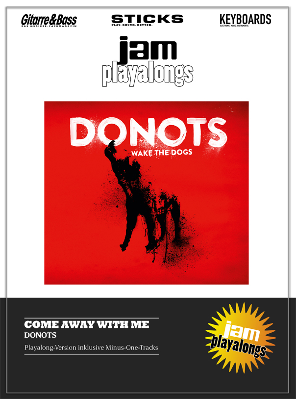 Produkt: Come Away With Me – Donots