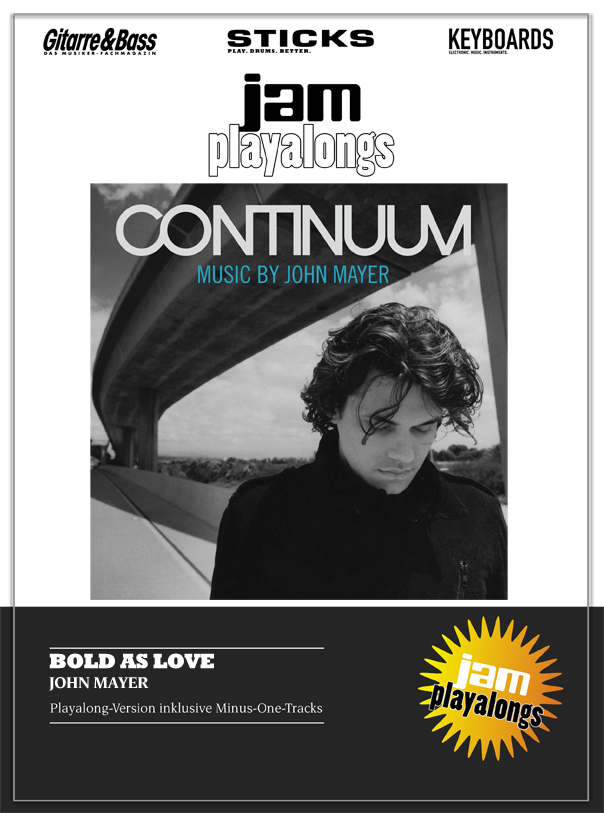 Produkt: Bold As Love – John Mayer