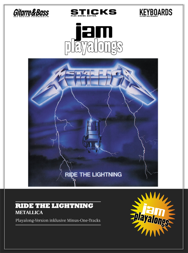 Produkt: Ride The Lightning – Metallica