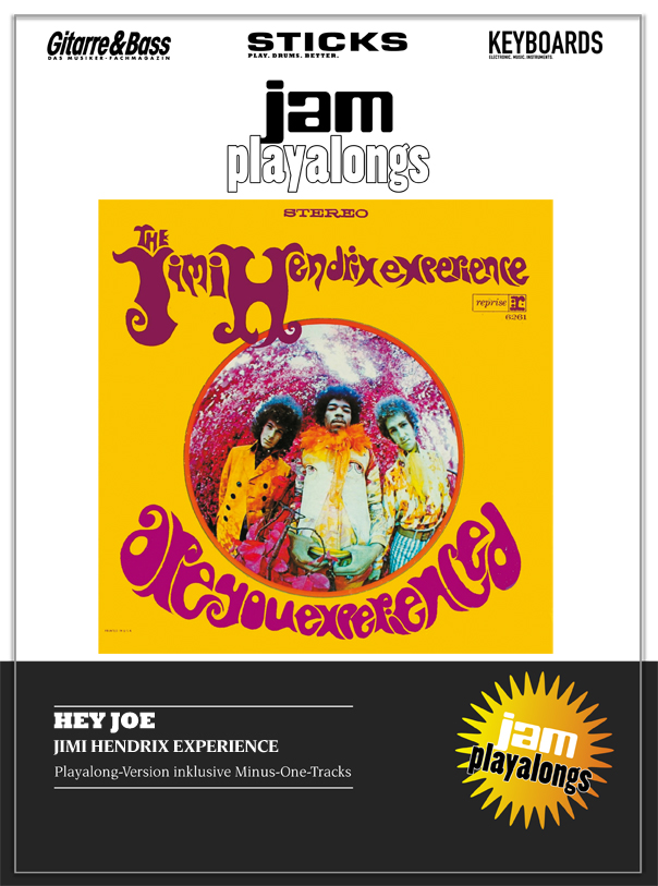 Produkt: Hey Joe – Jimi Hendrix Experience