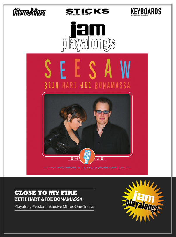 Produkt: Close To My Fire – Beth Hart & Joe Bonamassa