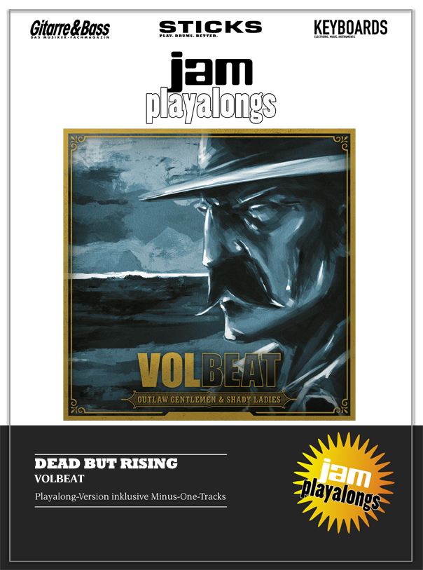 Produkt: Dead But Rising – Volbeat