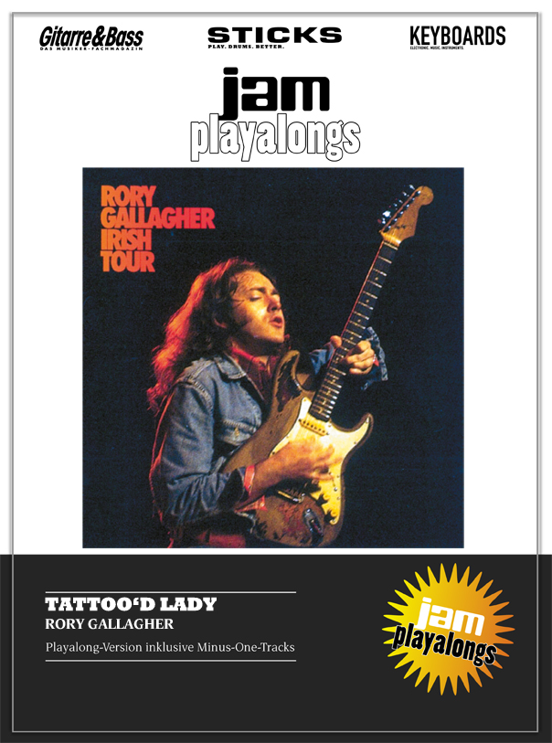 Produkt: Tattoo'd Lady – Rory Gallagher
