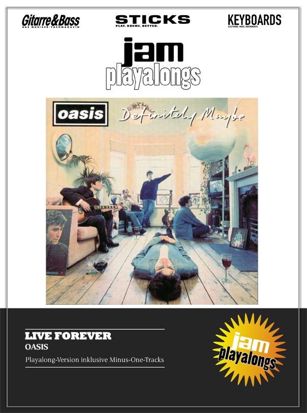 Produkt: Live Forever – Oasis