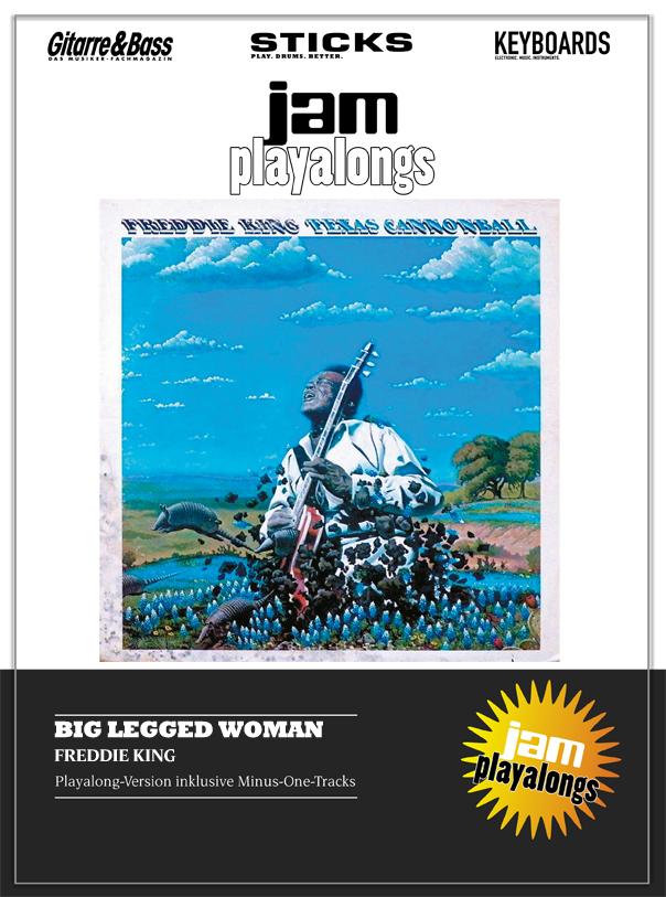 Produkt: Big Legged Woman – Freddie King