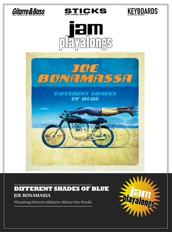 Produkt: Different Shades Of Blue – Joe Bonamassa