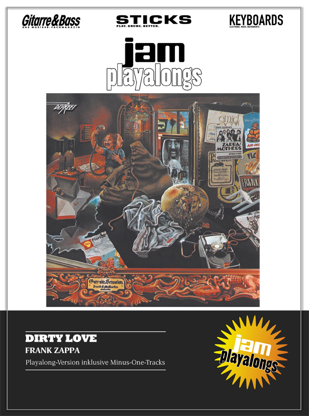 Produkt: Dirty Love – Frank Zappa