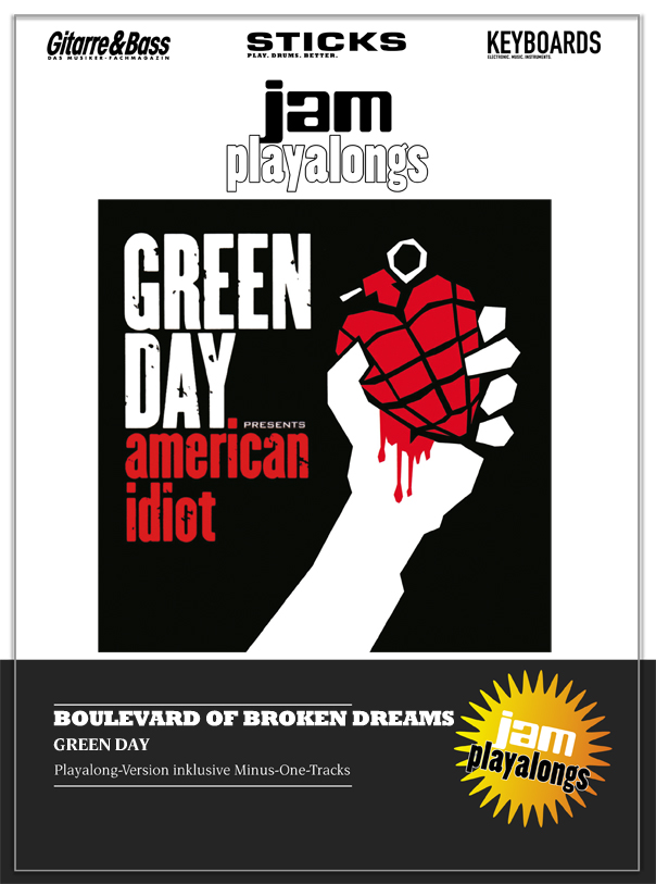 Produkt: Boulevard Of Broken Dreams – Green Day