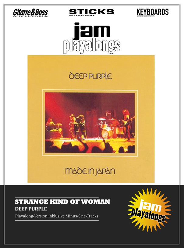 Produkt: Strange Kind Of Woman – Deep Purple