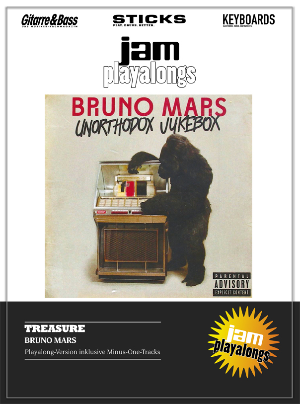 Produkt: Treasure – Bruno Mars