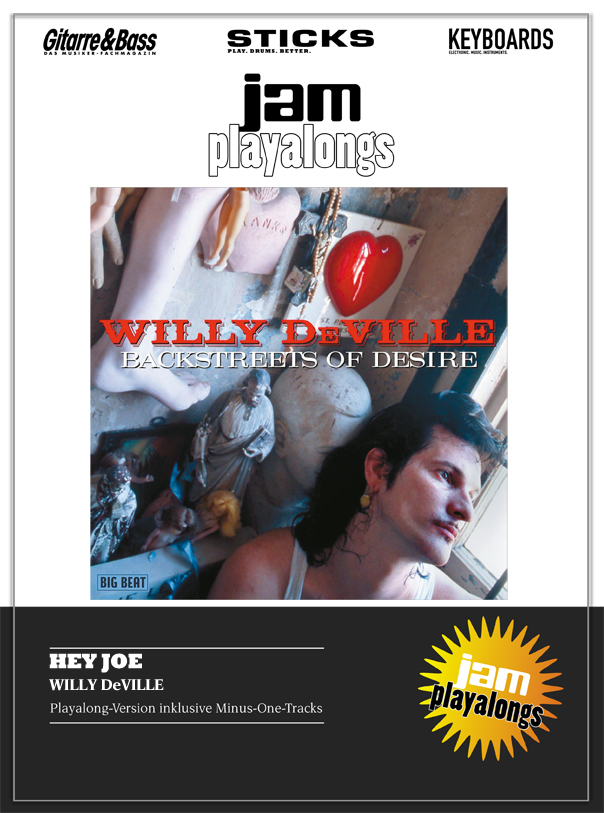Produkt: Hey Joe – Willy DeVille