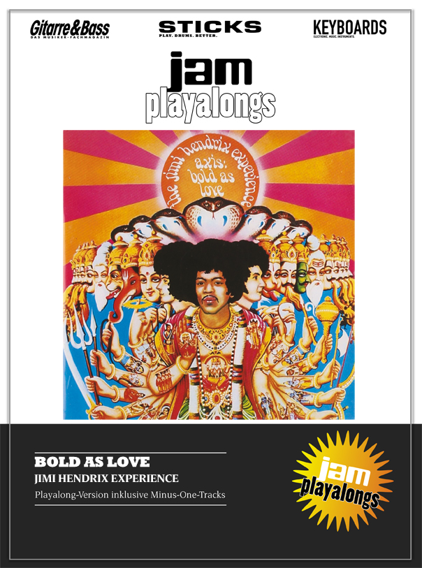 Produkt: Bold As Love – The Jimi Hendrix Experience