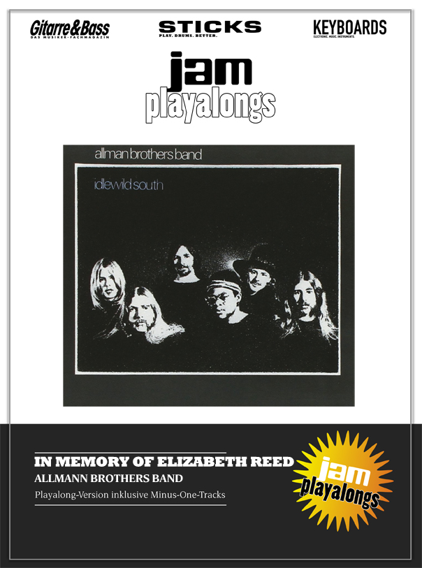 Produkt: In Memory Of Elizabeth Reed – The Allman Brothers