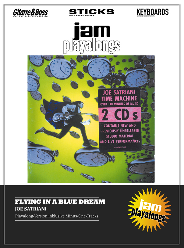 Produkt: Flying In A Blue Dream – Joe Satriani