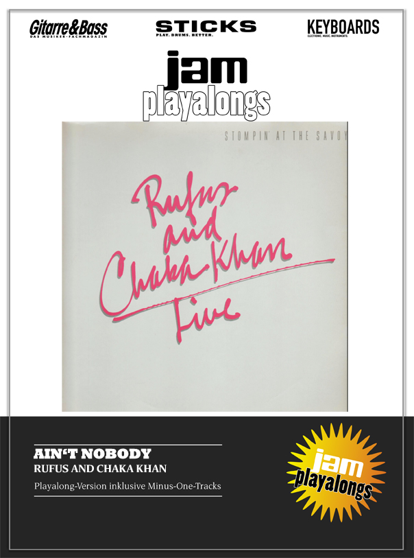 Produkt: Ain't Nobody – Rufus feat. Chaka Khan