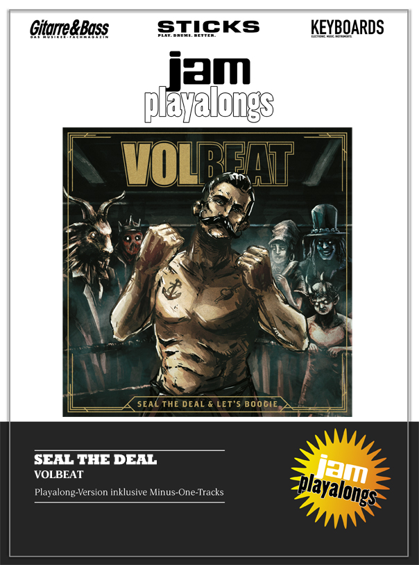 Produkt: Seal The Deal – Volbeat