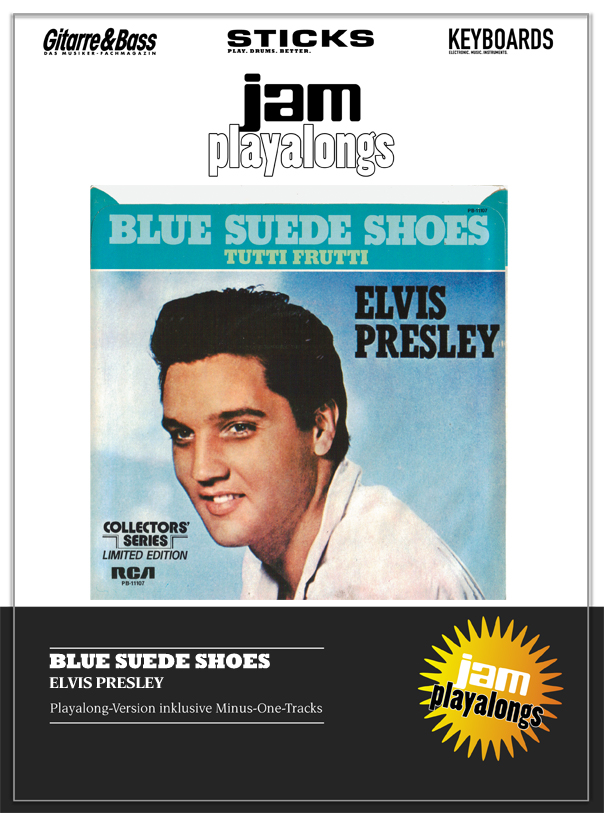Produkt: Blue Suede Shoes – Elvis Presley
