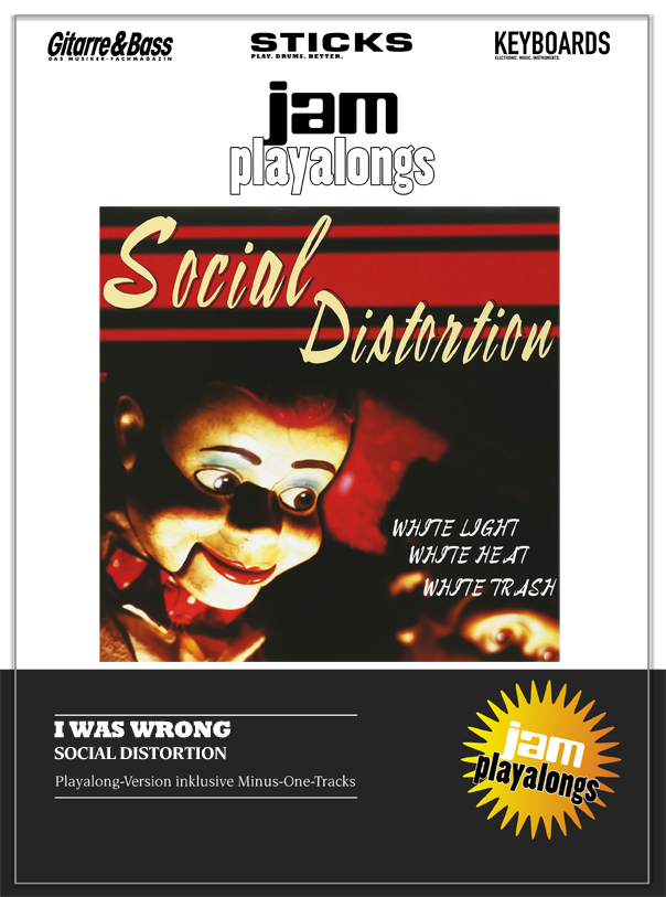 Produkt: I Was Wrong – Social Distortion