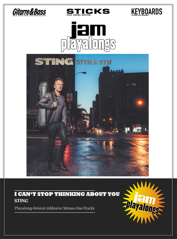 Produkt: I Can't Stop Thinking About You – Sting