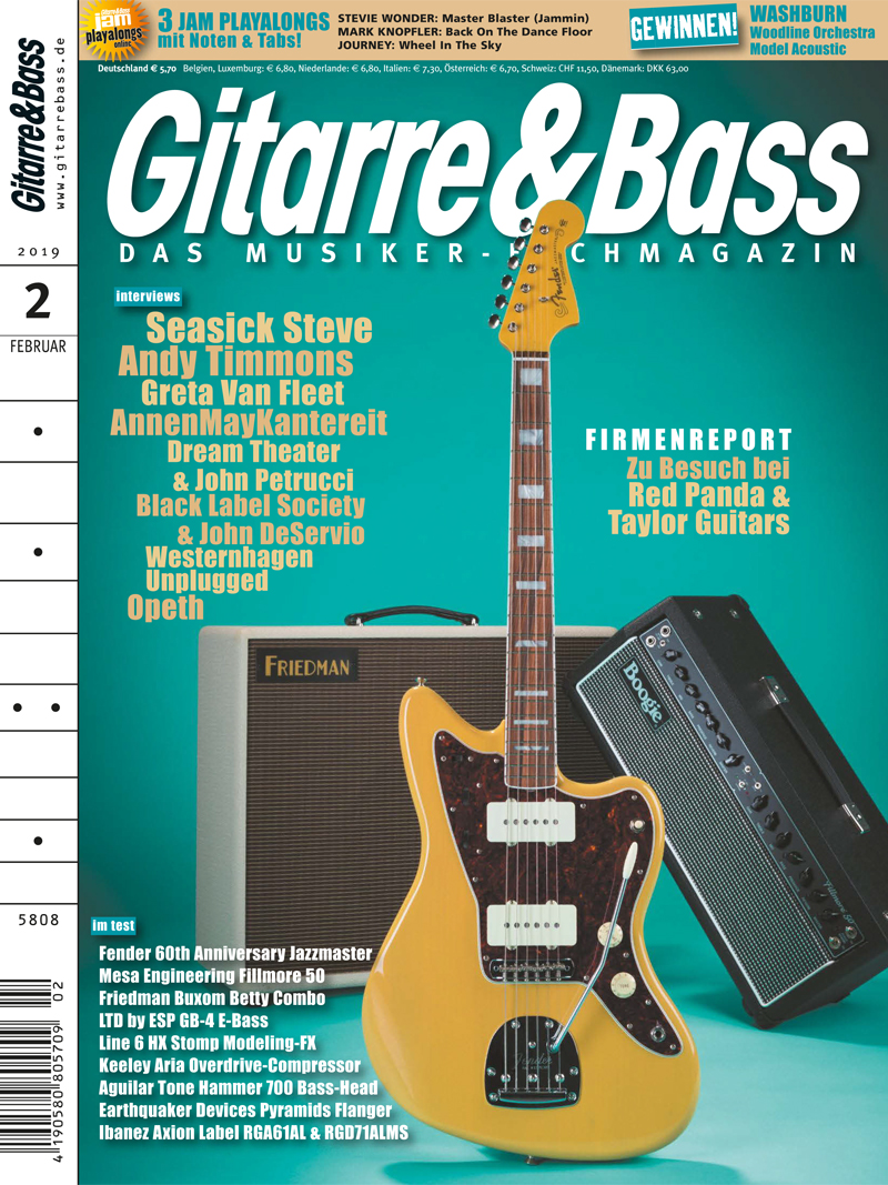 Produkt: Gitarre & Bass 2/2019 Digital