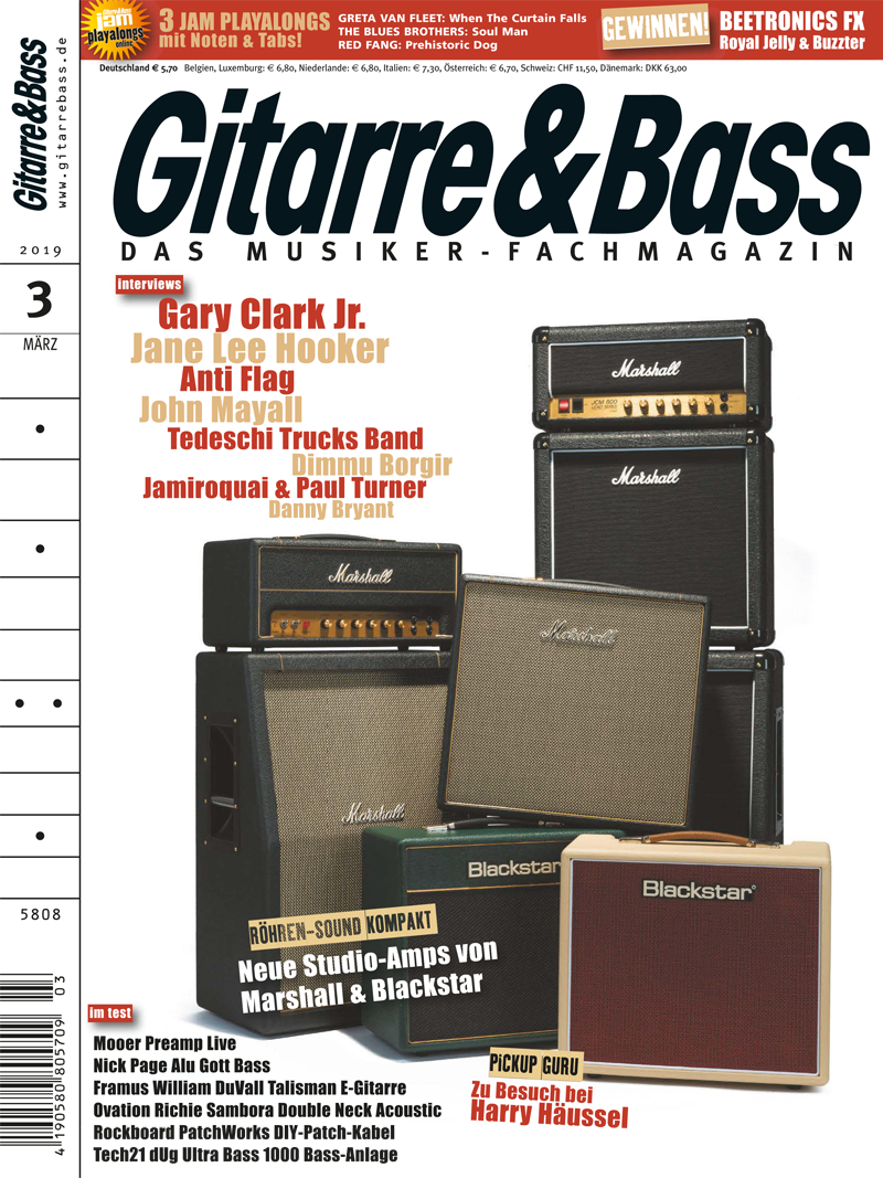 Produkt: Gitarre & Bass 3/2019 Digital