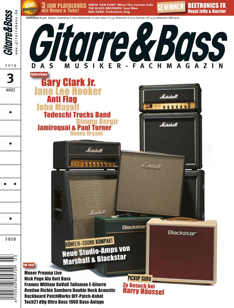 Aktuelle Ausgabe: GITARRE & BASS