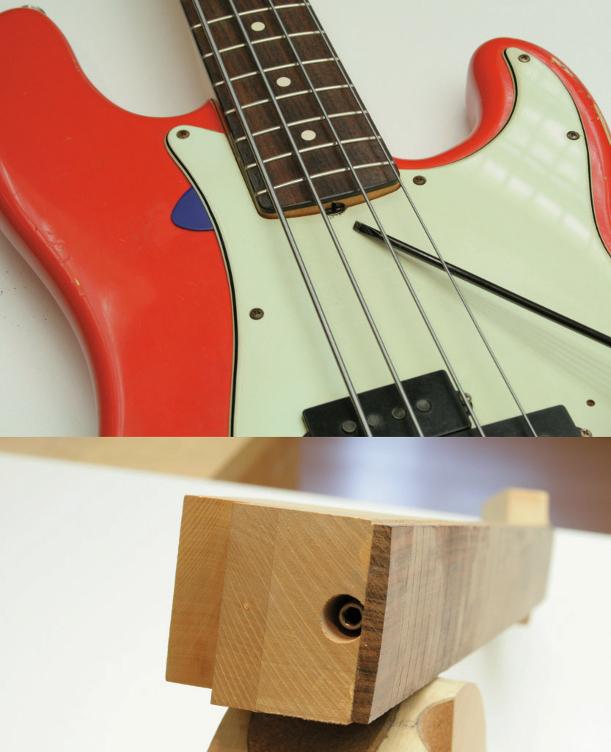 HEALLILY Verstellbarer fester Saitenhalter f/ür E-Gitarren von Teisco