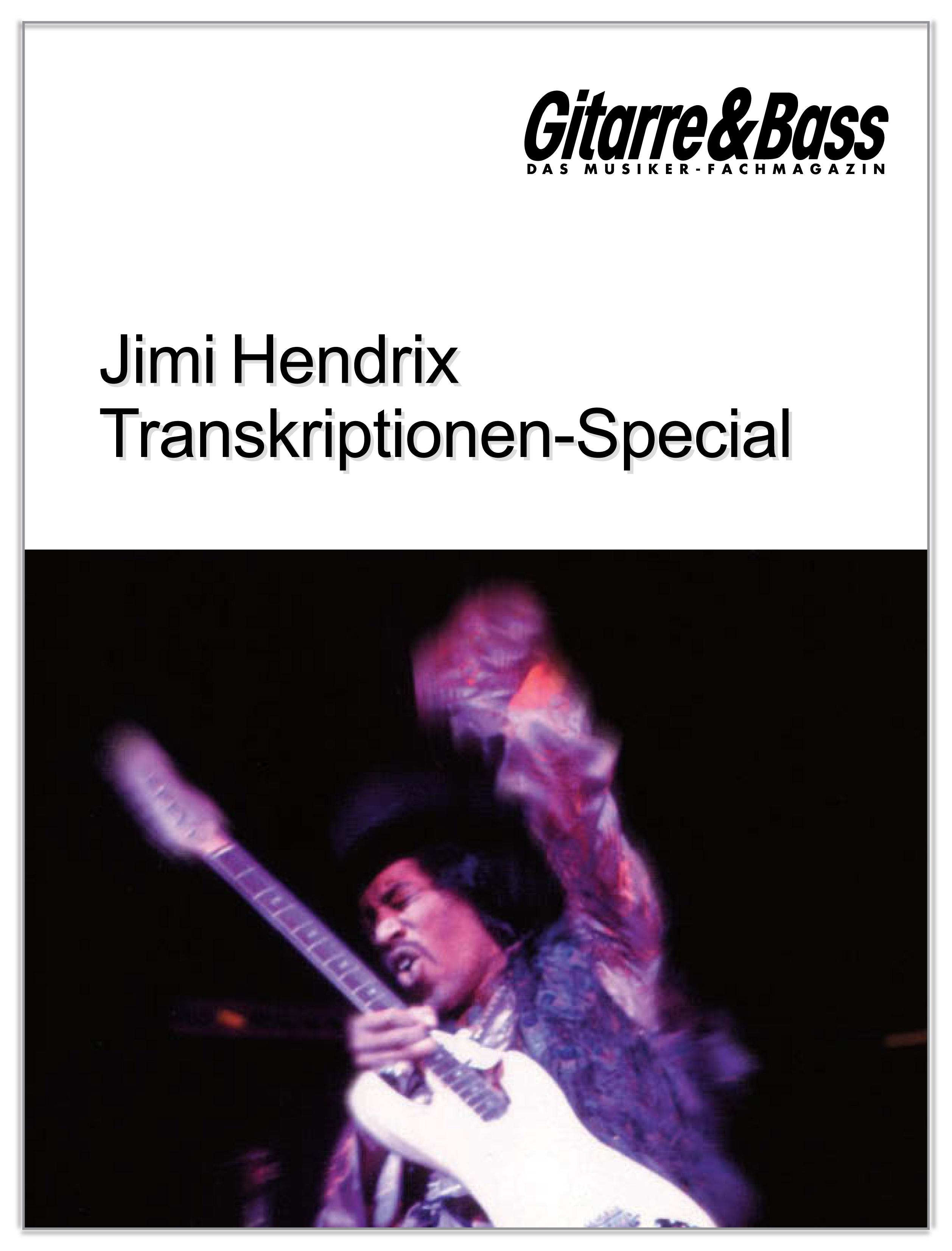 Produkt: Jimi Hendrix Transkriptionen