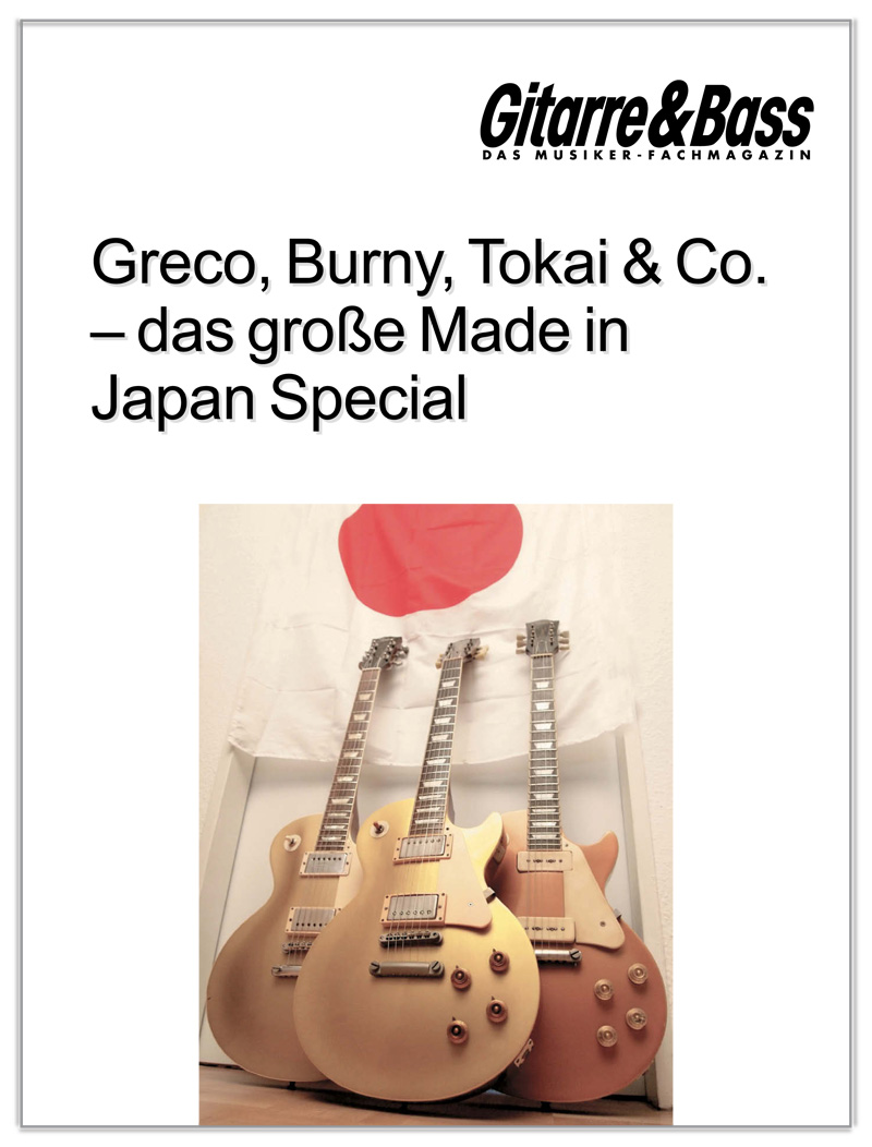 Produkt: E-Gitarren Made in Japan
