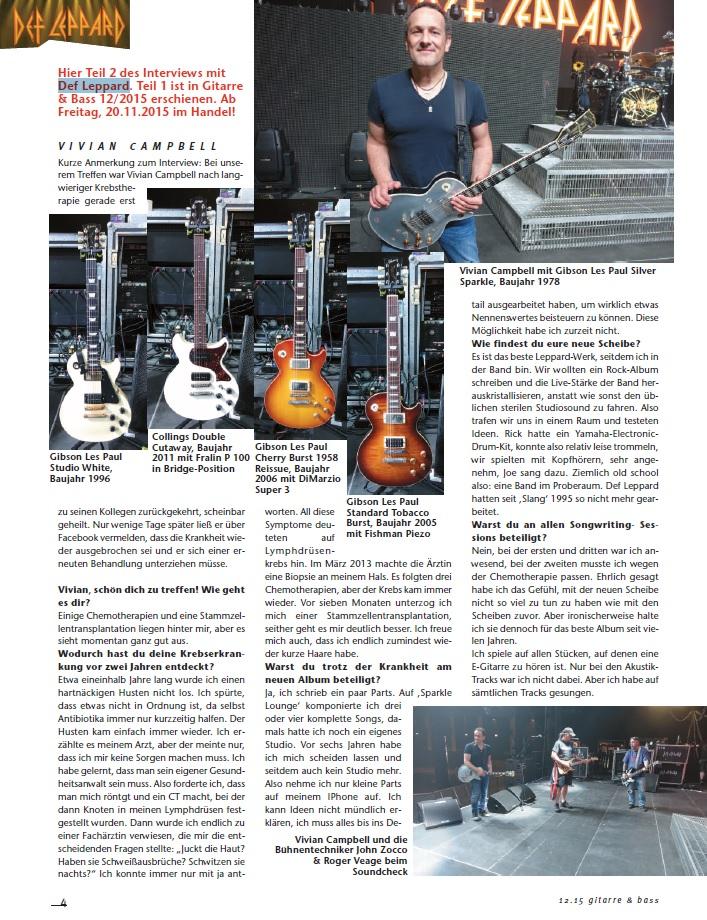 Produkt: Def Leppard Interview