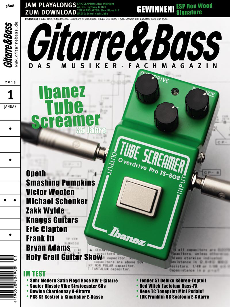 Produkt: Gitarre & Bass Digital 1/2015