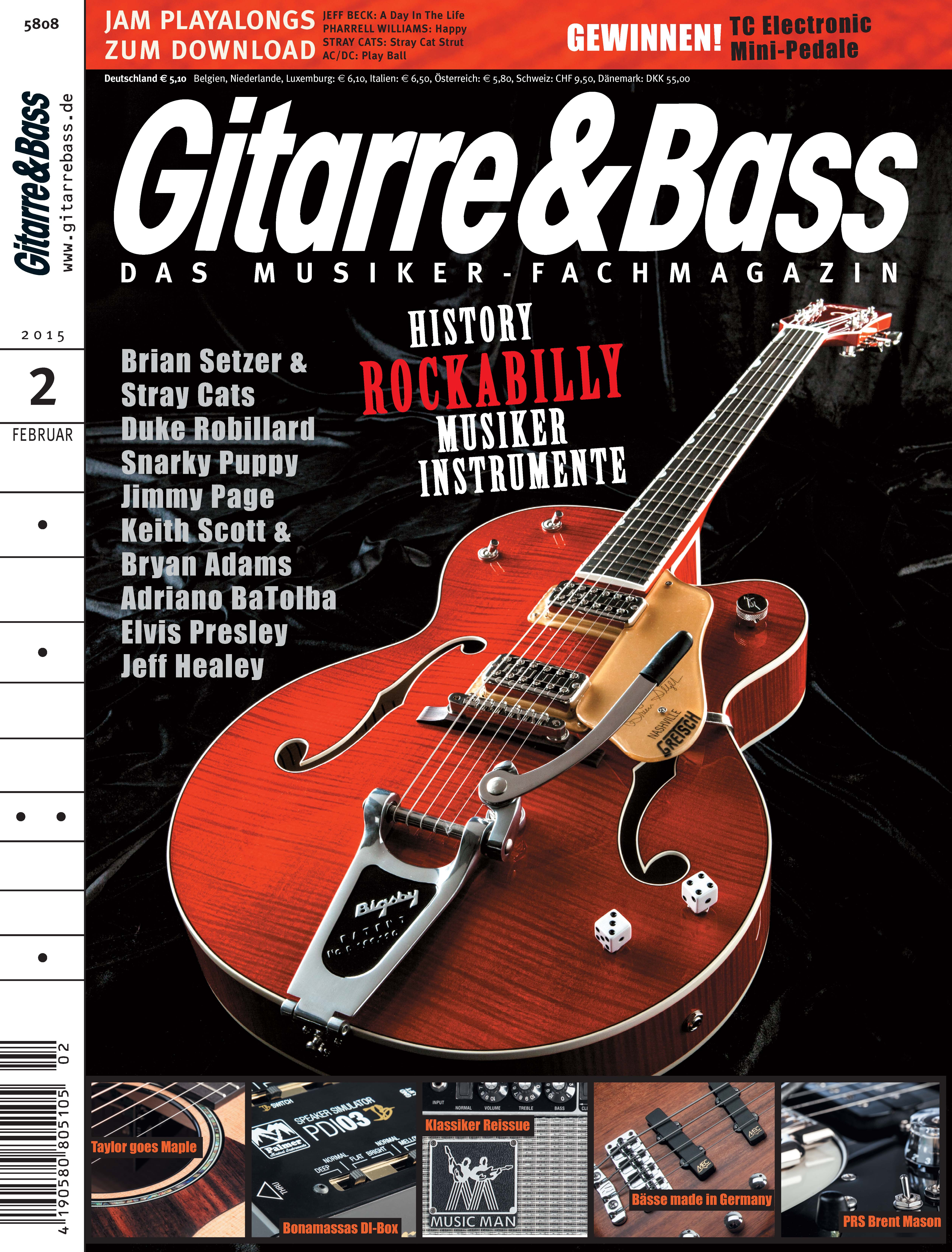 Produkt: Gitarre & Bass Digital 2/2015