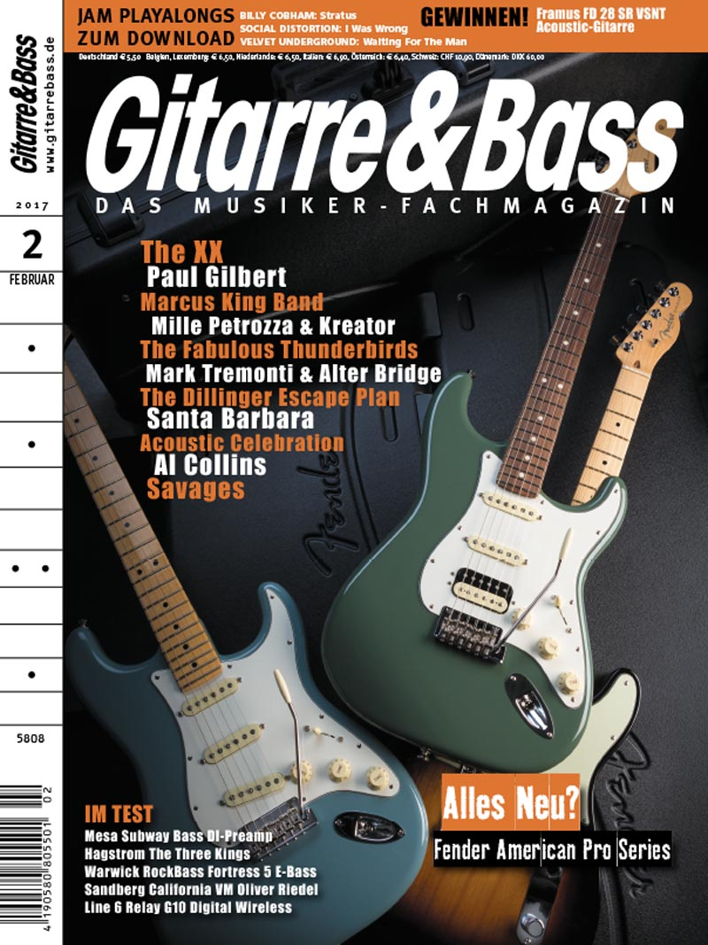 Produkt: Gitarre & Bass Digital 02/2017