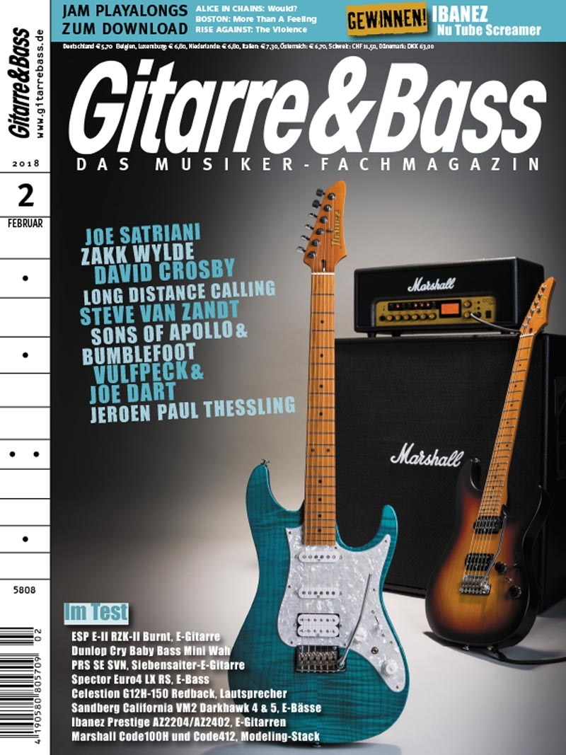 Produkt: Gitarre & Bass Digital 02/2018