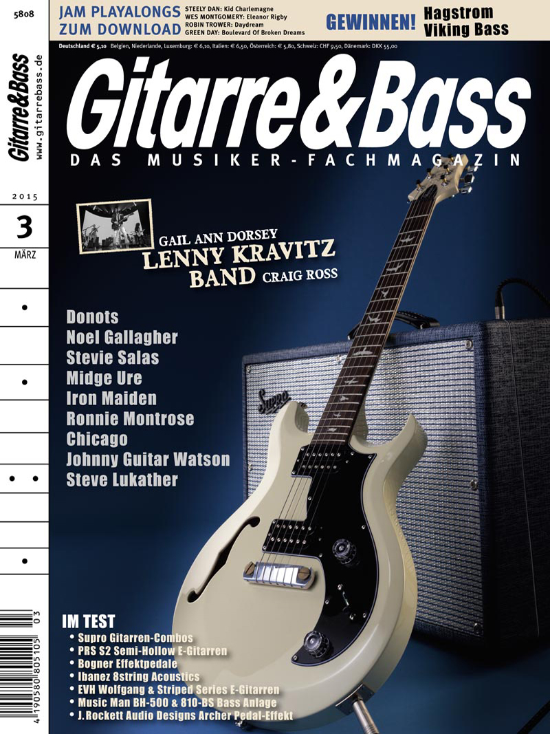 Produkt: Gitarre & Bass Digital 3/2015