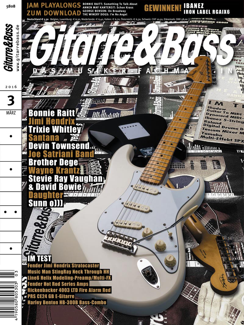 Produkt: Gitarre & Bass Digital 03/2016