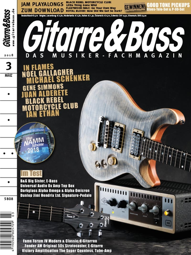 Produkt: Gitarre & Bass Digital 03/2018