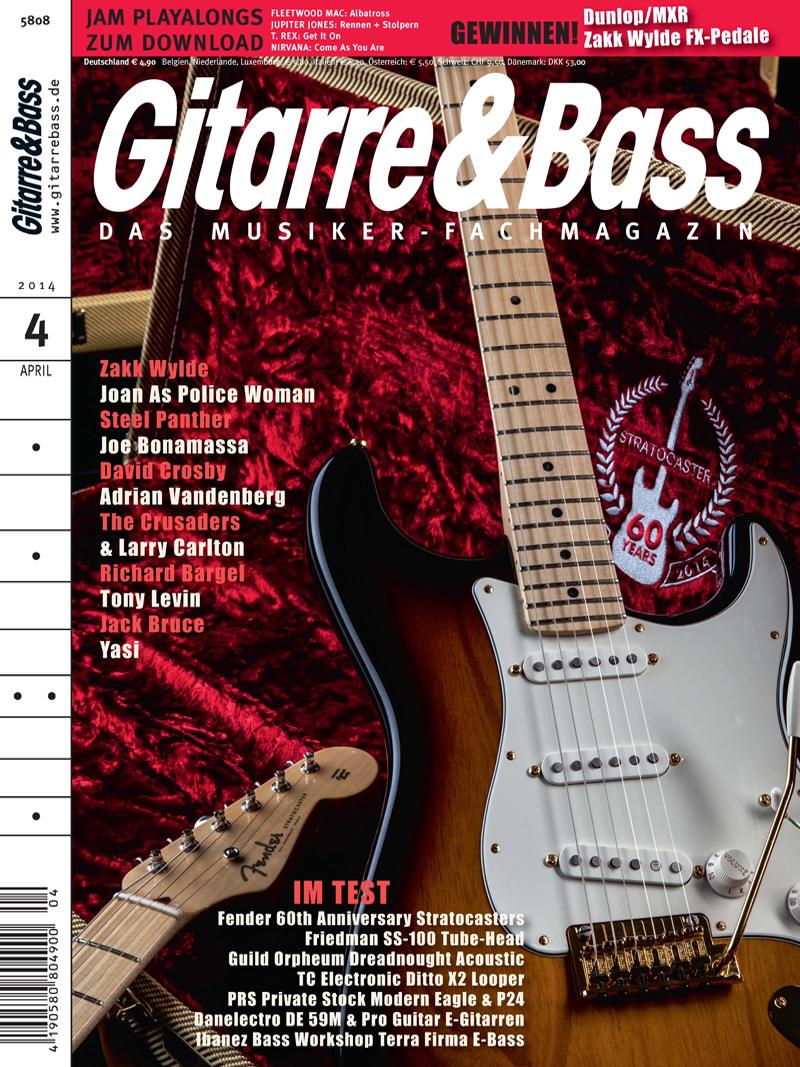 Produkt: Gitarre & Bass Digital 4/2014