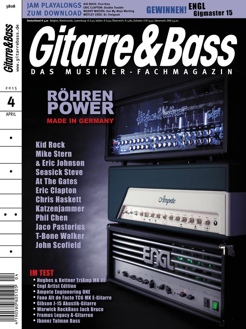 Produkt: Gitarre & Bass Digital 04/2015