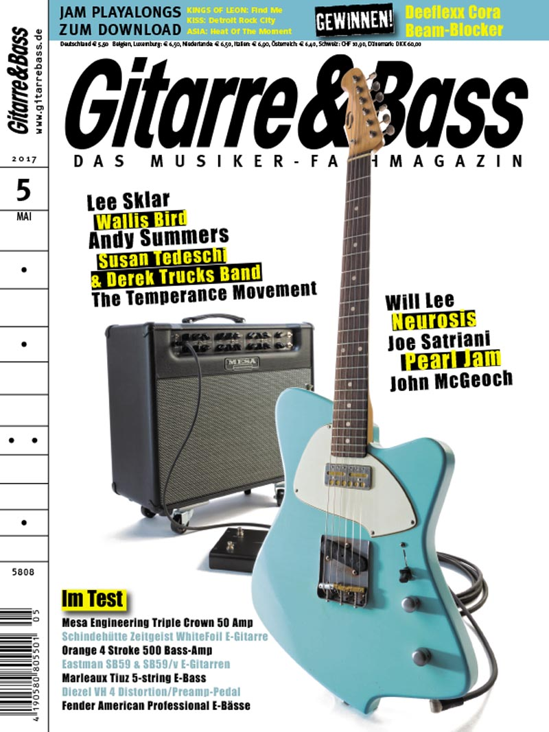 Produkt: Gitarre & Bass Digital 05/2017