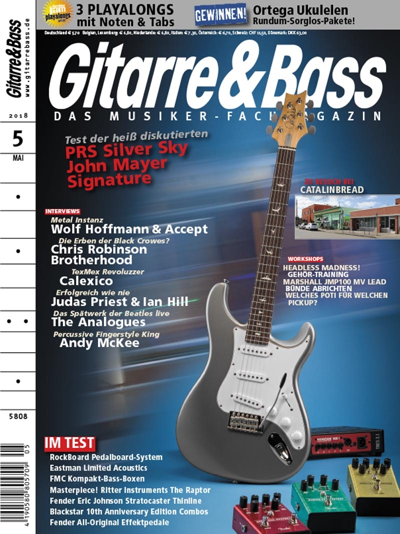 Produkt: Gitarre & Bass Digital 05/2018