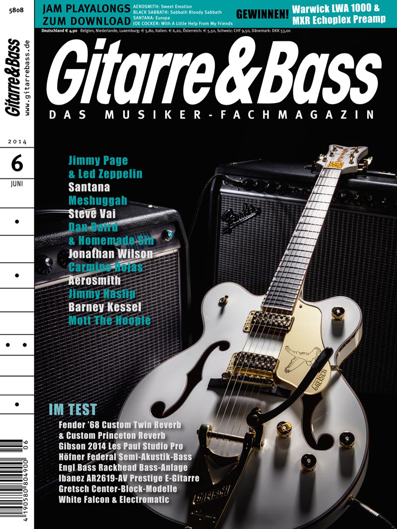 Produkt: Gitarre & Bass Digital 6/2014